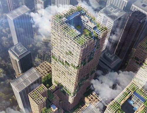 A Tokyo progettato un grattacielo in legno da 350 metri di altezza