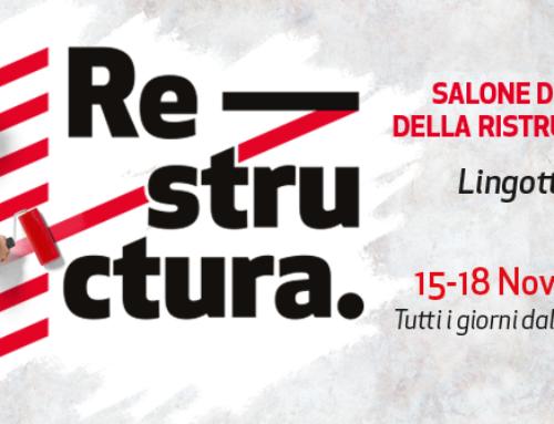 Fiera Restructura Oval Torino dal 15 al 18 novembre!