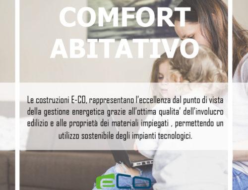 COSTRUIRE CON E-CO: comfort abitativo
